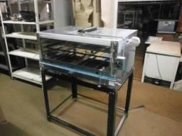 forno industrial refratário - com infra vermelho - á gás - novo