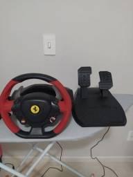 Volante Ferrari 458 thrustmaster para Xbox