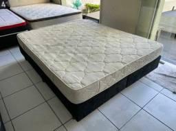 cama QUEEN de ESPUMA