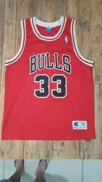 Título do anúncio: Camiseta Chicago Bulls 1990