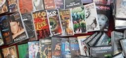 82 DVDs originais musicais pop dence romântica karaoke