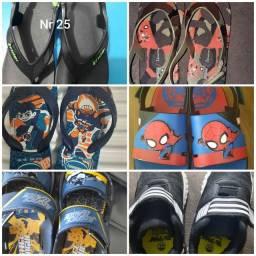 Sapatos infantil menino nr 25
