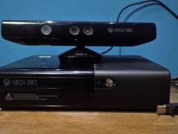 Xbox 360 com kinect novo