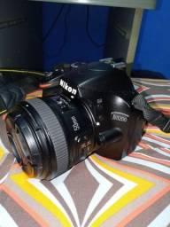 Câmera Nikon D3200 + 50mm 1.8
