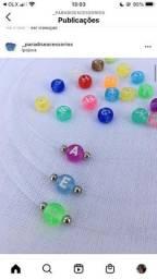 Colar inicial candy colors / acessorios / tendências /
