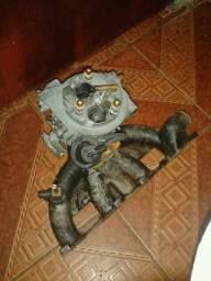 Carburador com coletor chevette