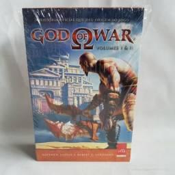 Kit Box Livro God Of War Volumes 1 E 2 História Oficial