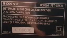 Docking Station Sony 150W Rms.