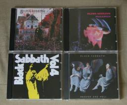 Lote 4 CD's Black Sabbath