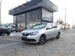 Renault logan exp 1.0 completo - 14/15 troco e financio - 2015