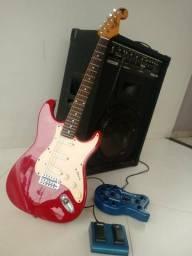 Kit Guitarra, Pedaleira e Caixa