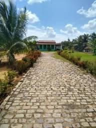 Granja com 4.000 m², na estrada do arenan, casa, poço, área de lazer com piscina