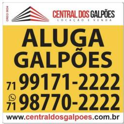 Opções de galpões em toda Bahia