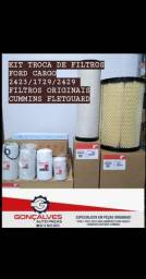 Kit troca de filtros ford cargo