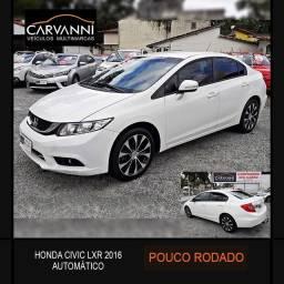 Honda Civic LXR 2016 Automático Único dono