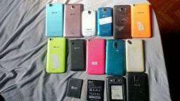 Lote de 12 smartphones BLU