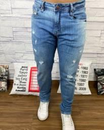 Calça masculina jeans diesel