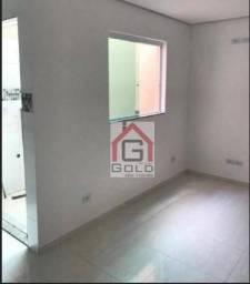 Apartamento com 2 dormitórios à venda, 40 m² por R$ 250.000 - Estação - Santo André/SP