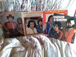 LP discos sertanejos diversos.
