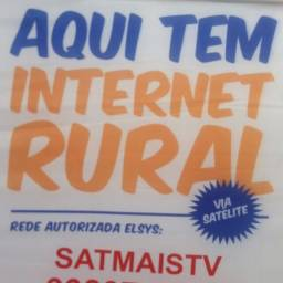 Internet Rural Via Satélite! Para áreas difíceis de sinal!!