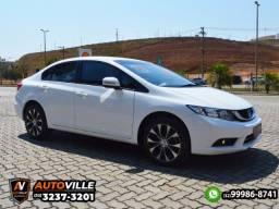 Honda Civic 2.0 Lxr Aut. Flex*Bancos em Couro*Controle de Estabilidade/Tração - 2016