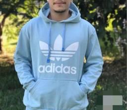 Moletom Adidas Azul bebê Unissex