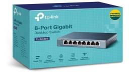Switch 8 Portas 10 100 1000 Mbps Tl-sg108 Tp-link