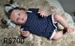 Bebê Reborn corpo de vinil siliconado