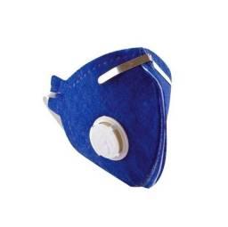 Máscara Respiratória Pff2 Com Válvula Ecoar Plastcor