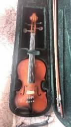Violino Michael 3/4 para estudo, em bom estado usado