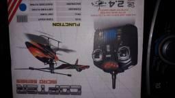 vendo mini helicóptero v911 completo