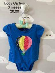 Bodys usados bebê menina