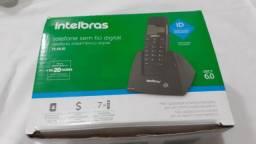 Telefone sem fio intelbras ts40 id
