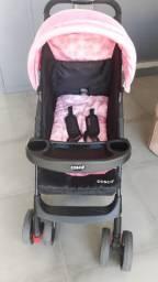 Carrinho de bebê Travel System Moove Cosco - Preto