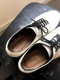 Sapato Branco Vintage Satinato TAM 38