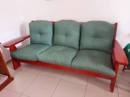 Jogo de sofás estilo móveis de Gramado