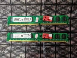 Memórias RAM Kingston 4GB (2GB+2GB) DDR2 800MHz Desktop