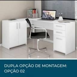 Mesa/ Escrivaninha Office em L para todos os ambientes.