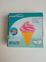 Novo bóia de sorvete