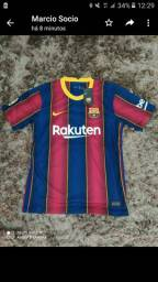 Vende-se camisa barcelona original tamanho P 2020 pronto e entrega