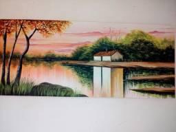 Pintura em tela.