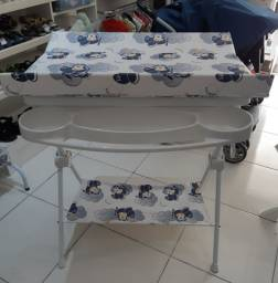 Banheira com trocador Luxo Galzerano Aviator seminova e higienizada
