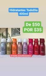 Hidratante corporal Natura 400 ml várias. Fragrâncias disponível