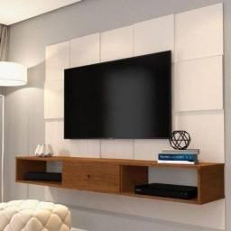 Painel Luxo 3D Perola para TV até 60 Polegadas