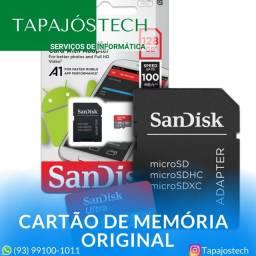 Cartão Micro SD Sandisk Ultra 128GB