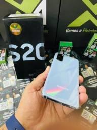Título do anúncio: Samsung s20 branco - preço baixo é aqui - até 18x no cartão - entrego