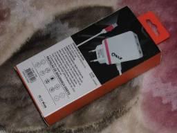 Carregador rapido para Smartphones produto novo entregamos em Poa-rs