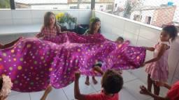 Alegria é garantida com Recreação infantil  Teco Teco