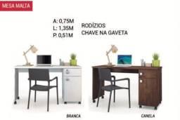 Mesa de escritório malta top de linha