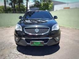Ssangyong korando 2012 2.0 gl 4x4 16v turbo diesel 4p automÁtico